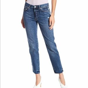 NEW Free People Slim Boyfriend Jeans